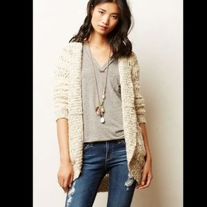 Anthropologie Soubrette Marled Cardigan XS